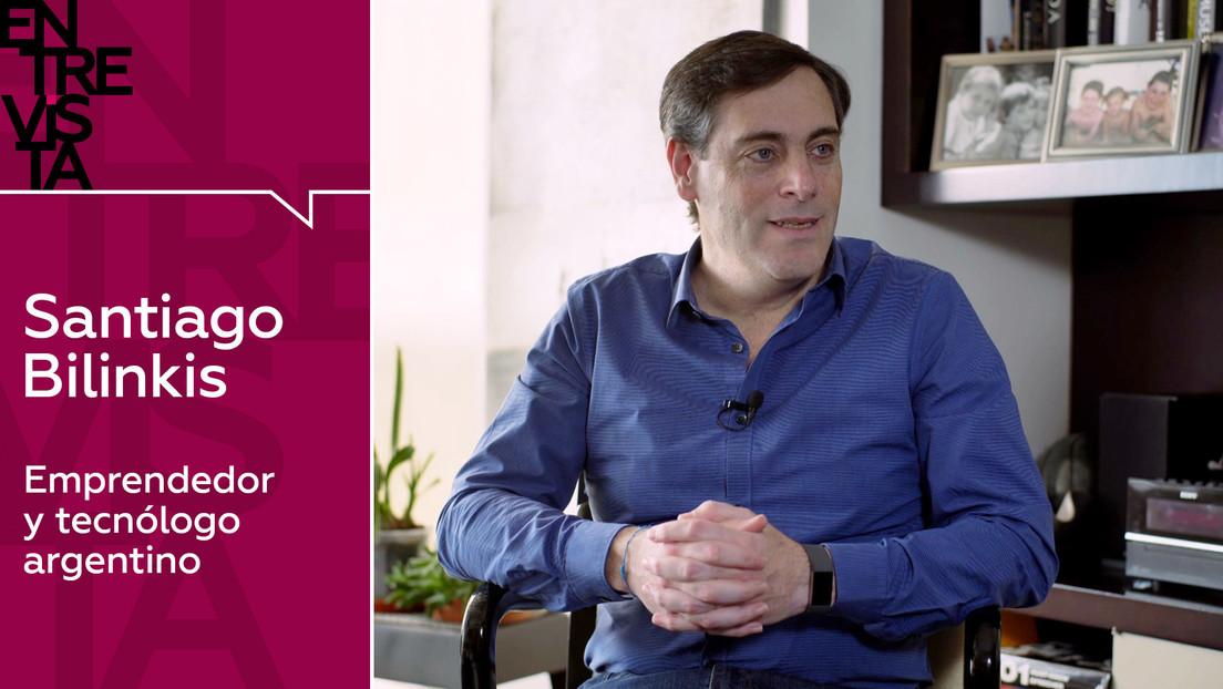 """Emprendedor y tecnólogo Santiago Bilinkis: """"El teléfono móvil es casi una extensión de nuestro cuerpo y nuestra mente, nos transforma el cerebro"""""""