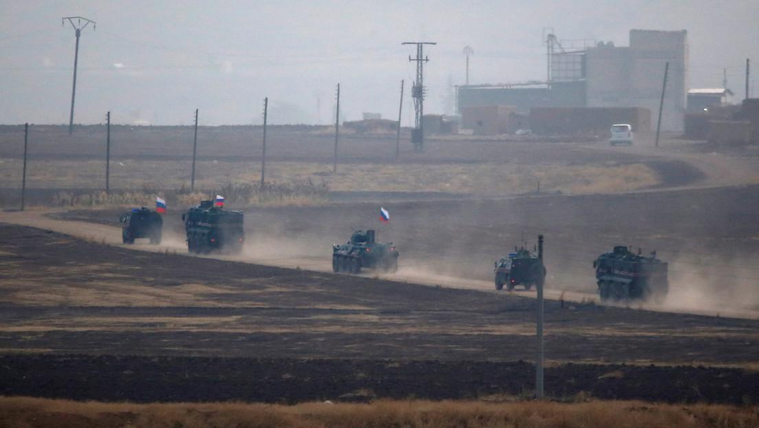 Explota una bomba al paso de un vehículo blindado ruso que realizaba una patrulla en Siria