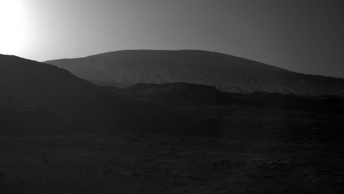 La NASA muestra cómo es el amanecer en Marte