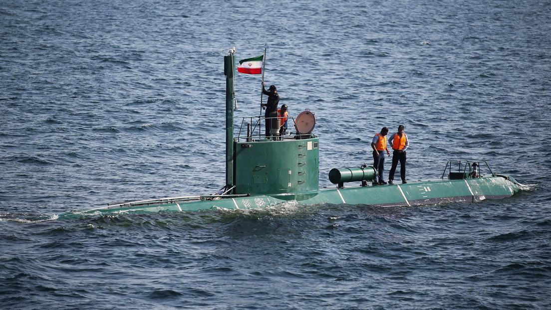 """Comandante iraní anuncia producción en serie de misiles de crucero lanzados desde submarinos y promete que tendrán """"una seria sorpresa para enemigos"""""""