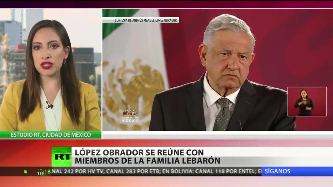 López Obrador se reúne con varios integrantes de la familia LeBarón