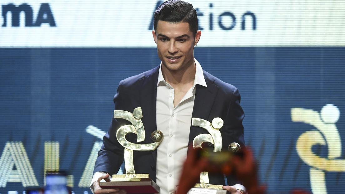 Cristiano Ronaldo no asiste a la gala del Balón de Oro pero recibe otro premio