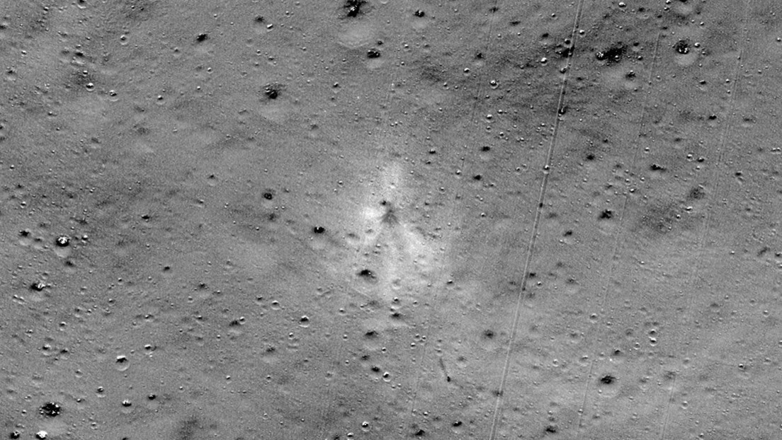 FOTO: Un aficionado del espacio ayuda a la NASA a encontrar el módulo indio que se estrelló en la Luna