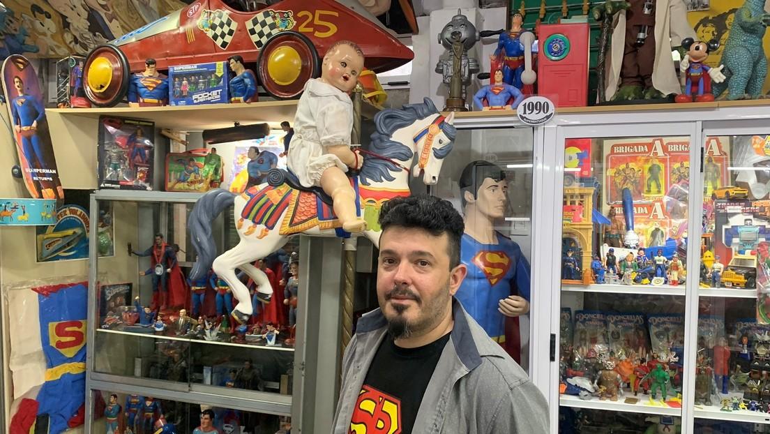 Muñecos de la Fundación Eva Perón y más de 800 modelos de Superman: el primer museo del juguete de Buenos Aires (VIDEO)