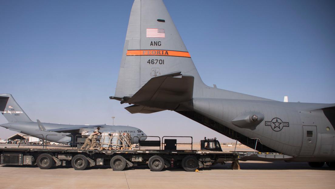 Lanzan cinco cohetes contra una base militar de EE.UU. en Irak