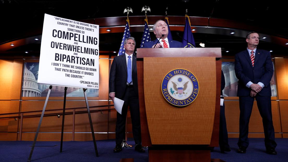 Aprueba panel de la Cámara Baja informe sobre juicio político contra Trump