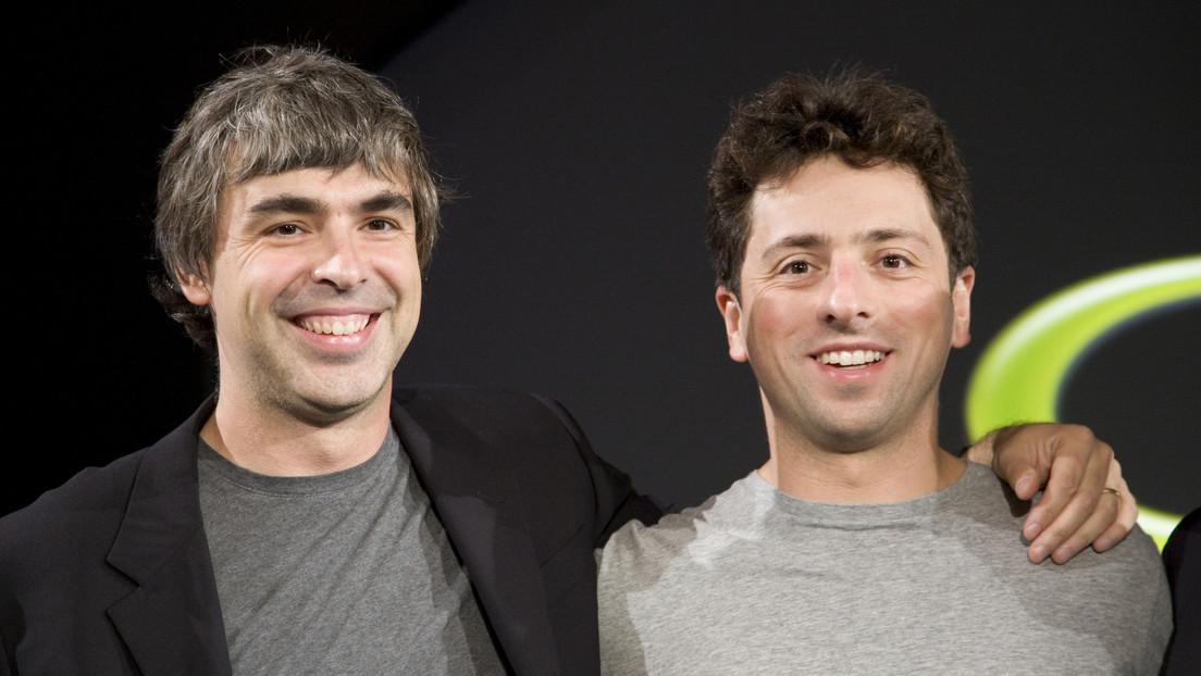Los cofundadores de Google Larry Page y Sergey Brin abandonan la dirección del gigante tecnológico