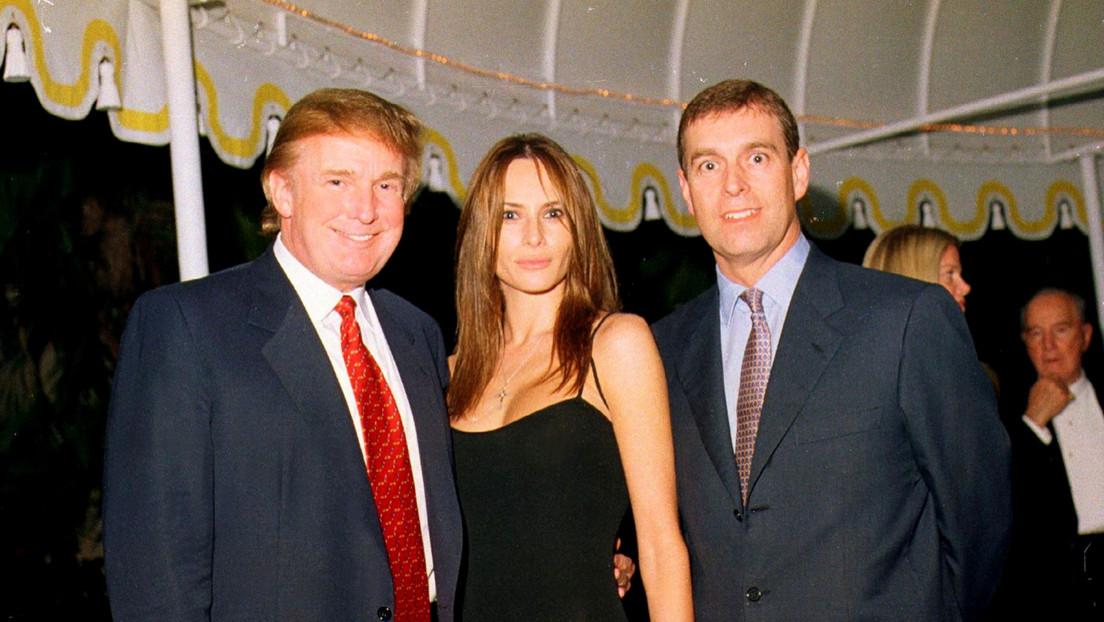 Trump niega conocer al príncipe Andrés que está envuelto en un escándalo sexual, pero estas fotos demuestran lo contrario