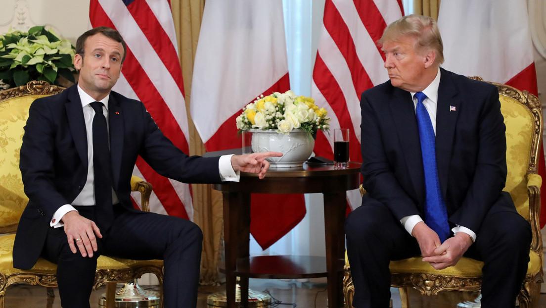 Trump afirma que Macron ha retirado sus palabras sobre la OTAN pese a que el presidente francés se reafirma en su opinión