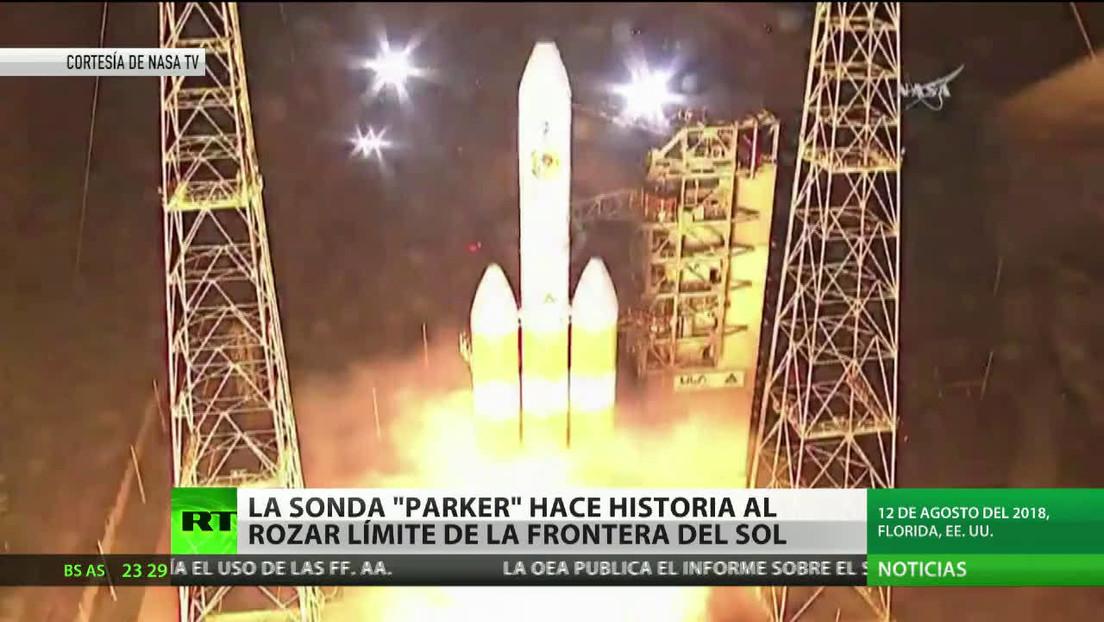 La sonda Parker hace historia al rozar el límite de la frontera del Sol