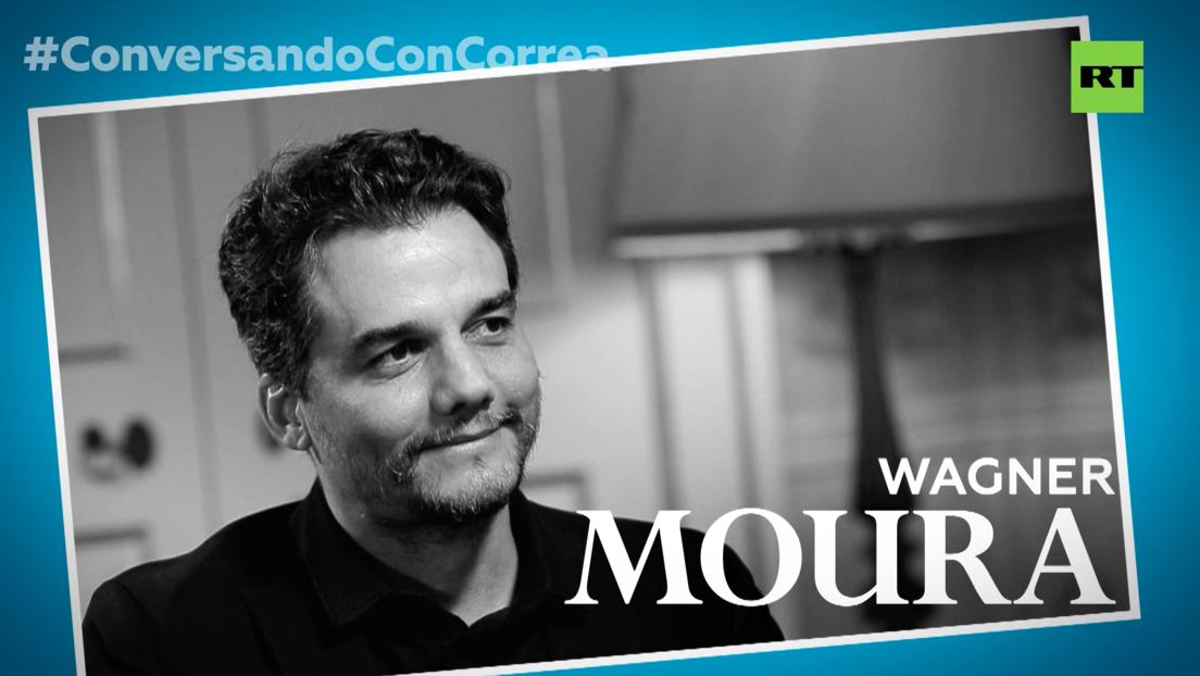 """Wagner Moura a Correa: """"Lo primero que quiso hacer Bolsonaro fue destrozar el aparato artístico brasileño"""""""