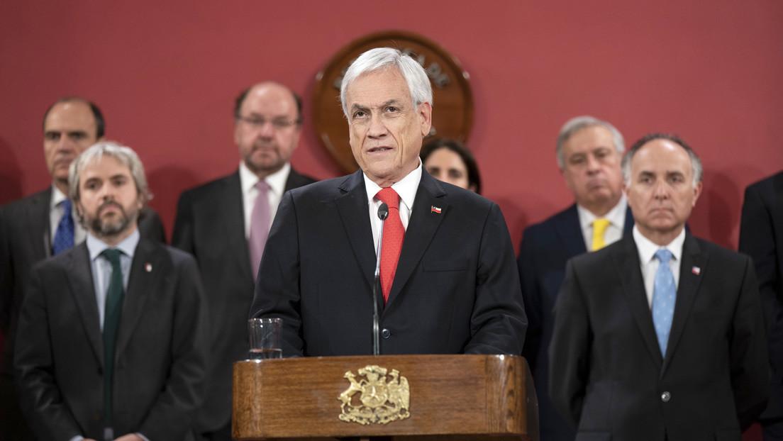La aprobación de Piñera alcanza un mínimo histórico al desplomarse hasta el 4,6 %