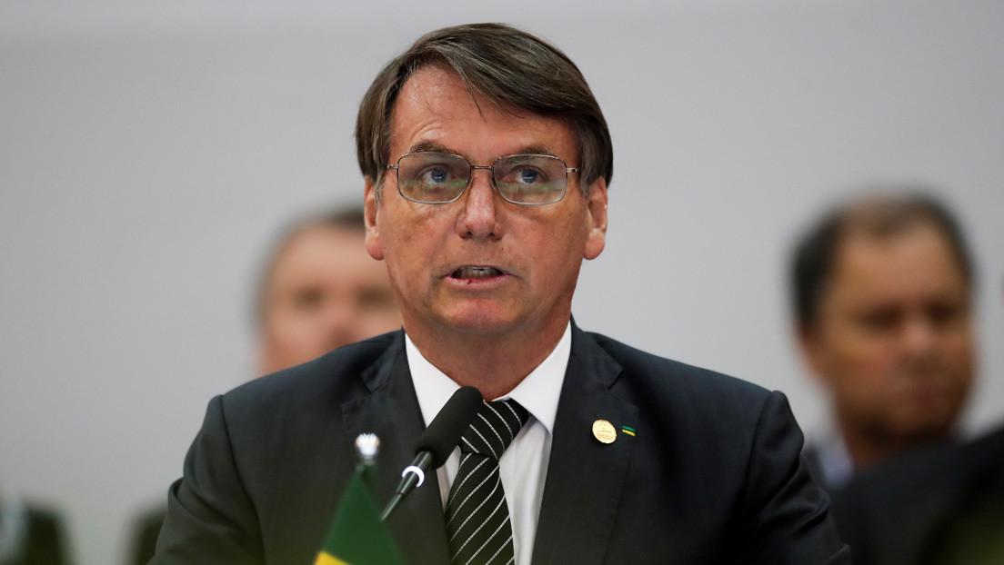 """Bolsonaro afirma que el Mercosur no puede aceptar """"retrocesos ideológicos"""""""