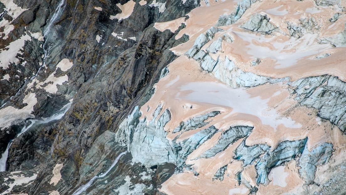 FOTOS: Glaciares donde se filmó 'El señor de los anillos' se vuelven rojos, creando preocupación