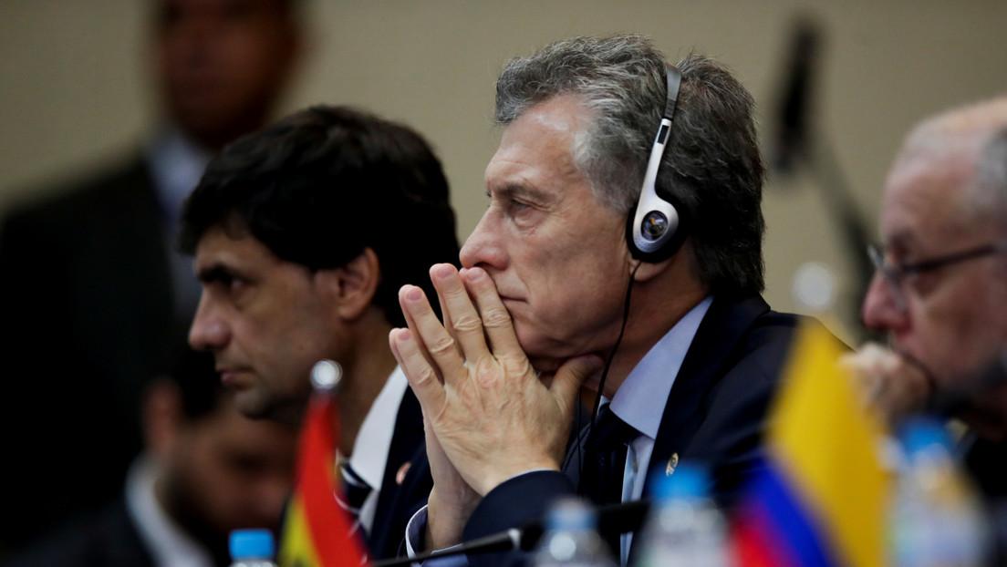 """Macri llama """"presidenta electa"""" a la autoproclamada mandataria de Bolivia en la Cumbre de Mercosur"""