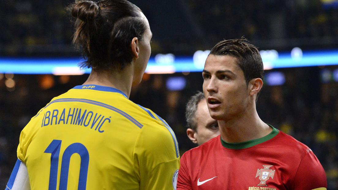Ibrahimovic arremete contra Cristiano Ronaldo en vísperas de su posible regreso al fútbol italiano