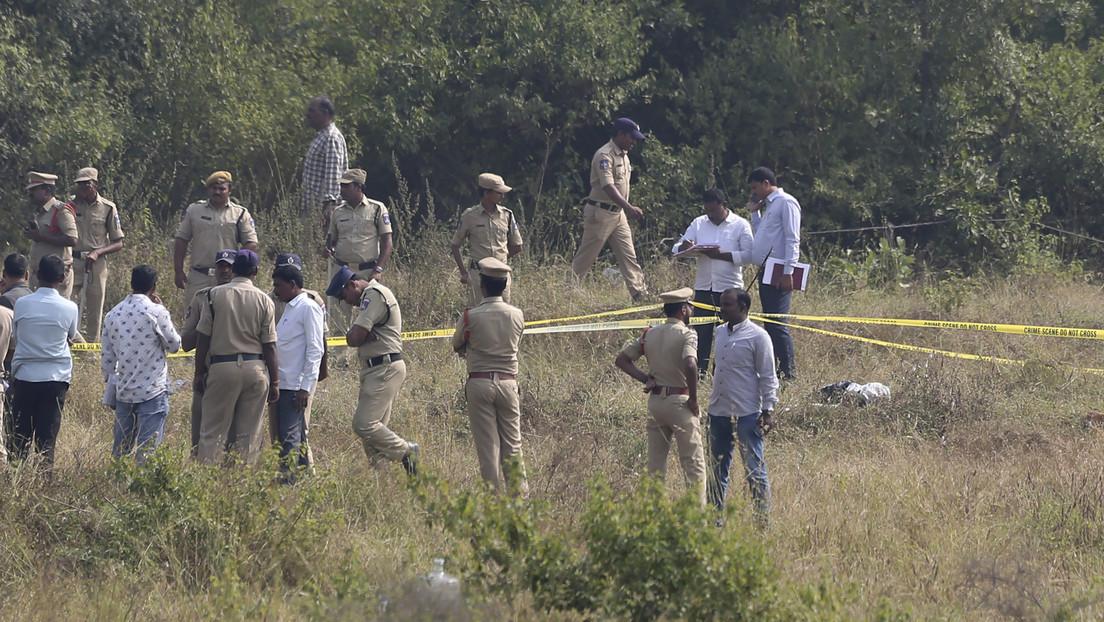 La Policía abate a tiros a los cuatro hombres que violaron y calcinaron a una joven en la India