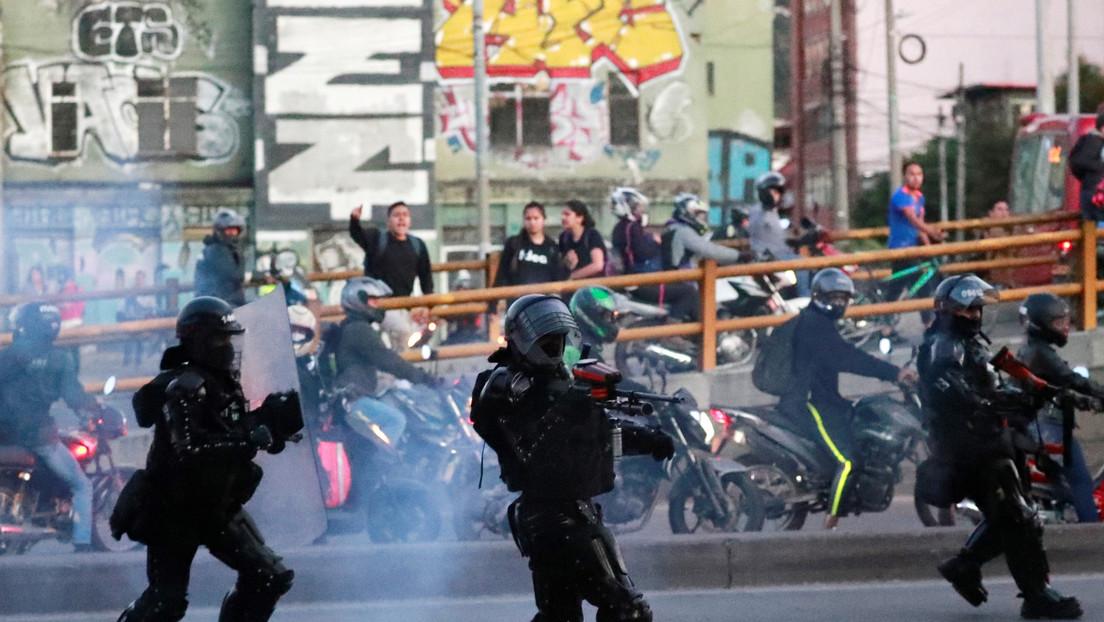 Filtran la explicación del agente antidisturbios implicado en la muerte de Dilan Cruz durante protestas en Colombia