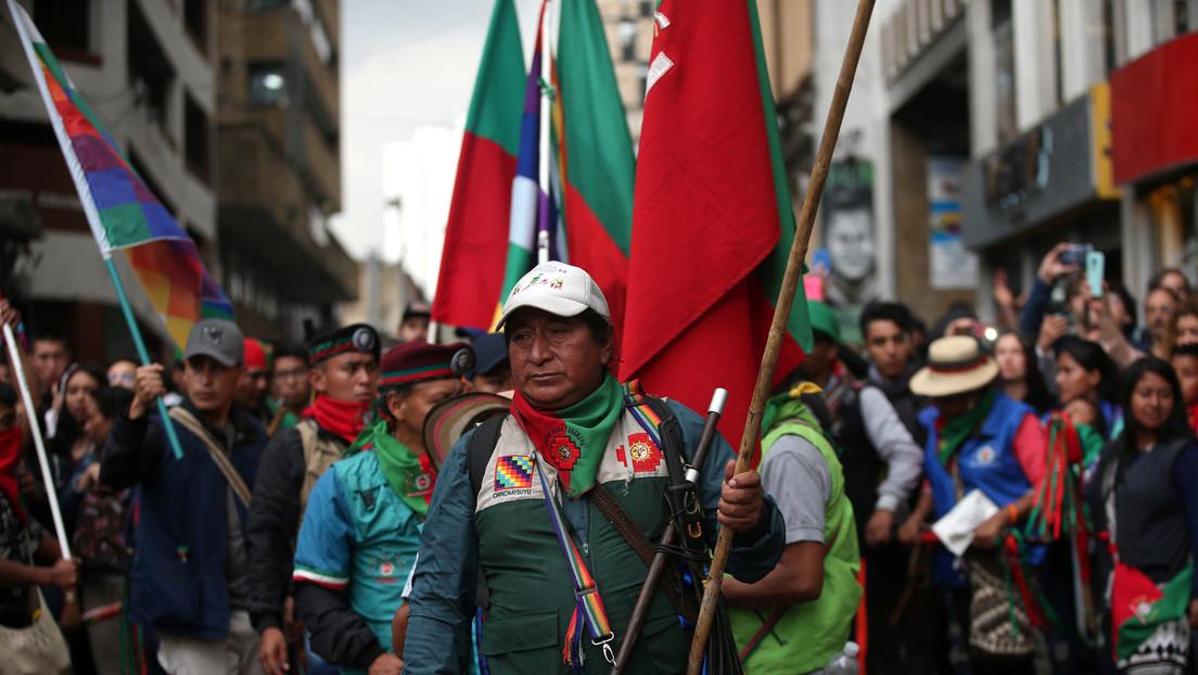 Se cumple el plazo del 'ultimátum' que los indígenas colombianos le dieron al gobierno de Iván Duque