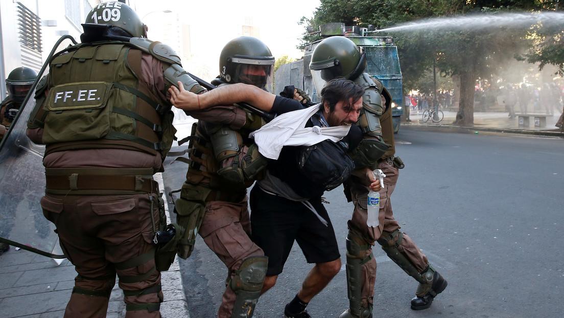 """La CIDH condena el """"uso excesivo de la fuerza"""" por parte de la Policía chilena durante las protestas"""
