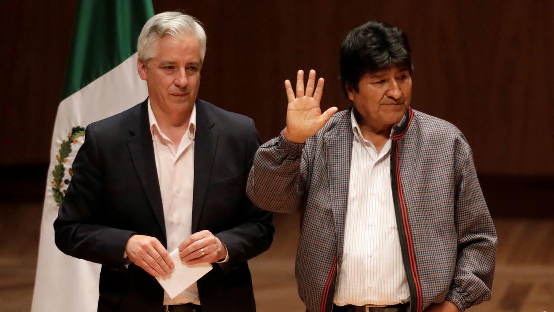 """Cancillería mexicana: Evo Morales parte rumbo a Cuba en un """"viaje temporal"""""""