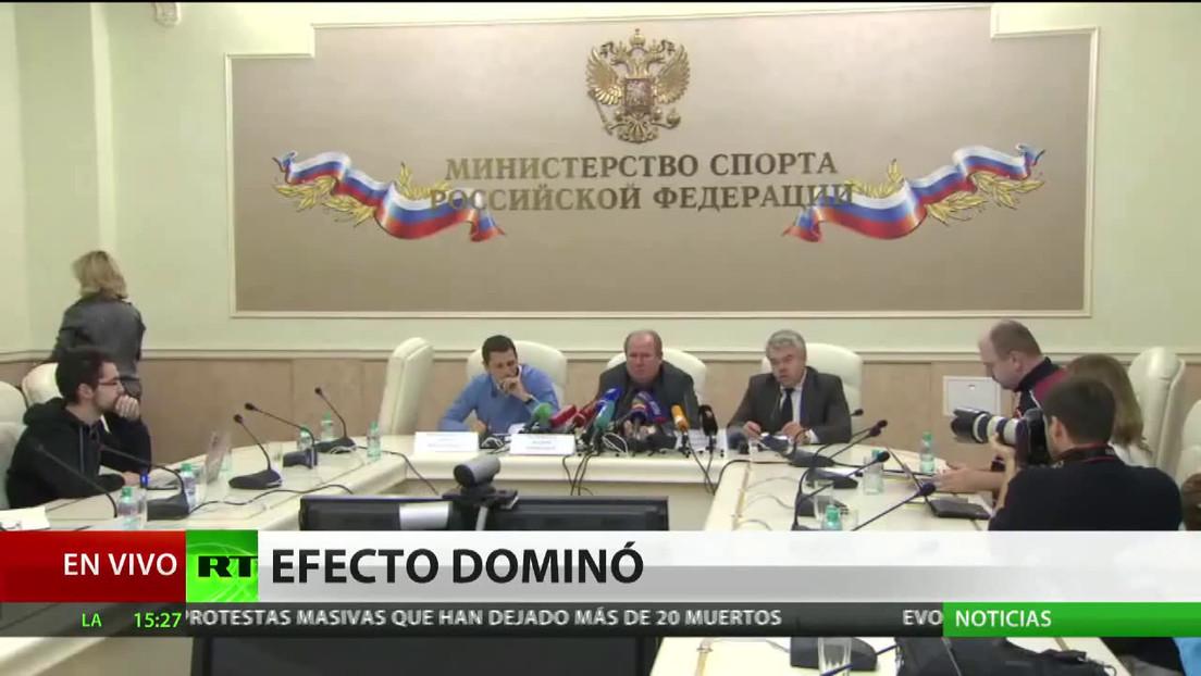 Dimite por escándalo el vicepresidente de la Federación Rusa de Atletismo