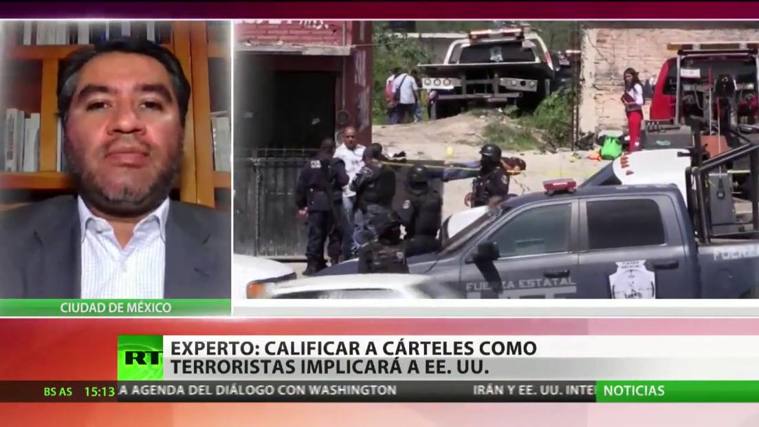 México agradece que EE.UU. no designe a los cárteles como terroristas