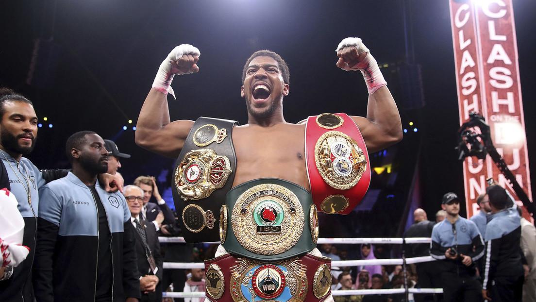 """Anthony Joshua: """"Quería dar una gran clase magistral de boxeo contra Andy Ruiz Jr."""""""