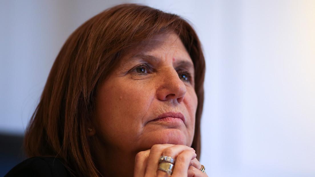 """Bullrich se pone """"un 10"""" por su gestión como ministra argentina de Seguridad"""