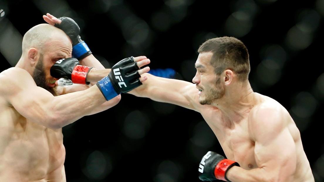 VIDEO: 'Protegido' de Floyd Mayweather logra su primer nocaut en la UFC tras hacer volar el protector bucal de su rival