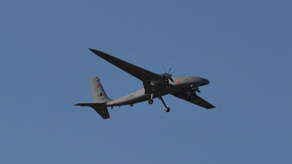 VIDEO: Turquía ensaya un nuevo dron destinado a tareas estratégicas militares