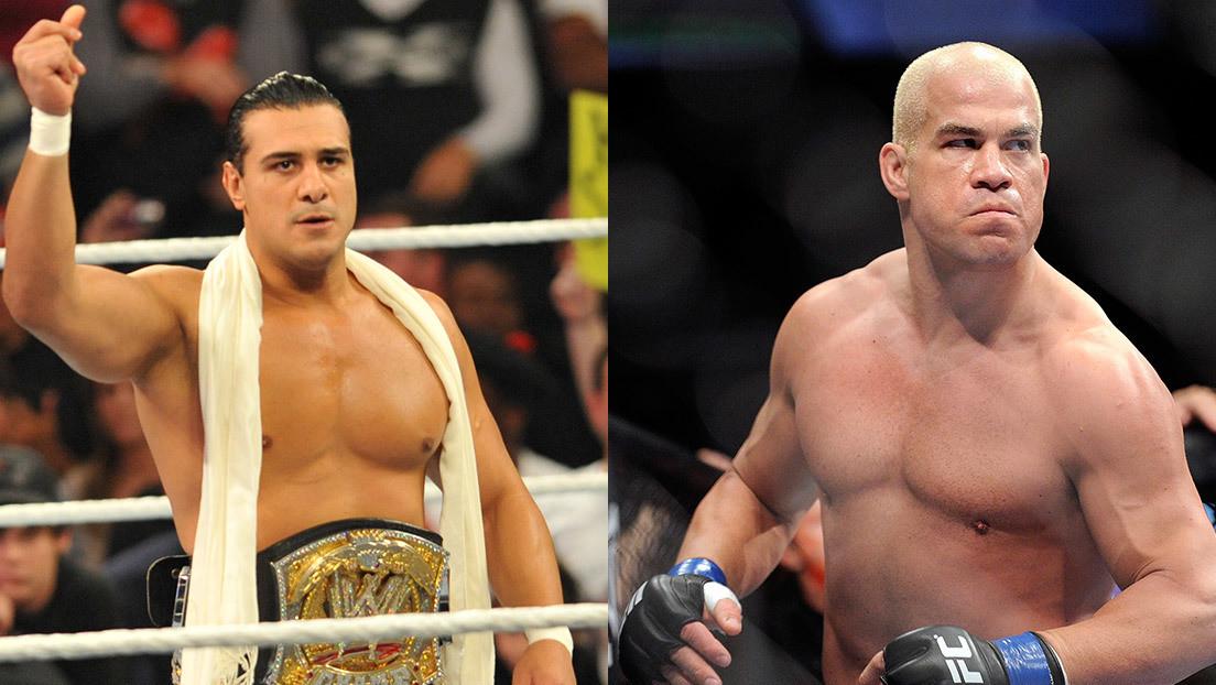 VIDEO: Tito Ortiz estrangula al excampeón de la WWE Alberto 'El Patrón' en el primer asalto de su combate de MMA