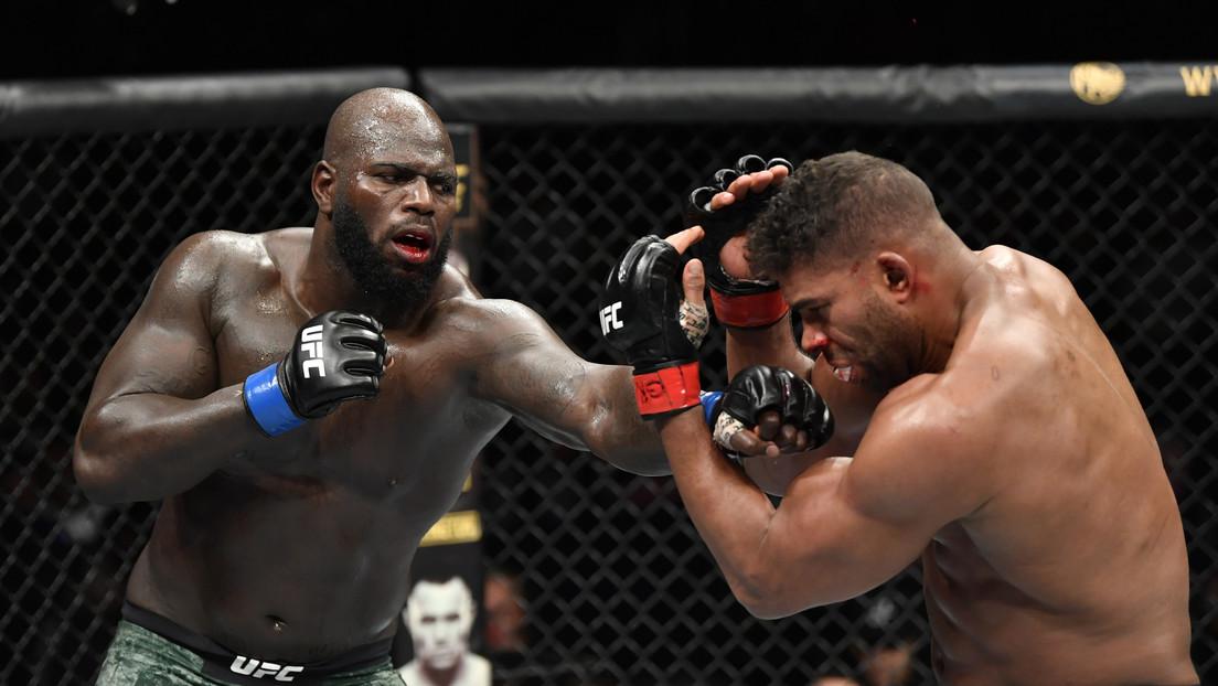 VIDEO: Momento en que le 'explota' el labio a un luchador de la UFC tras un brutal izquierdazo
