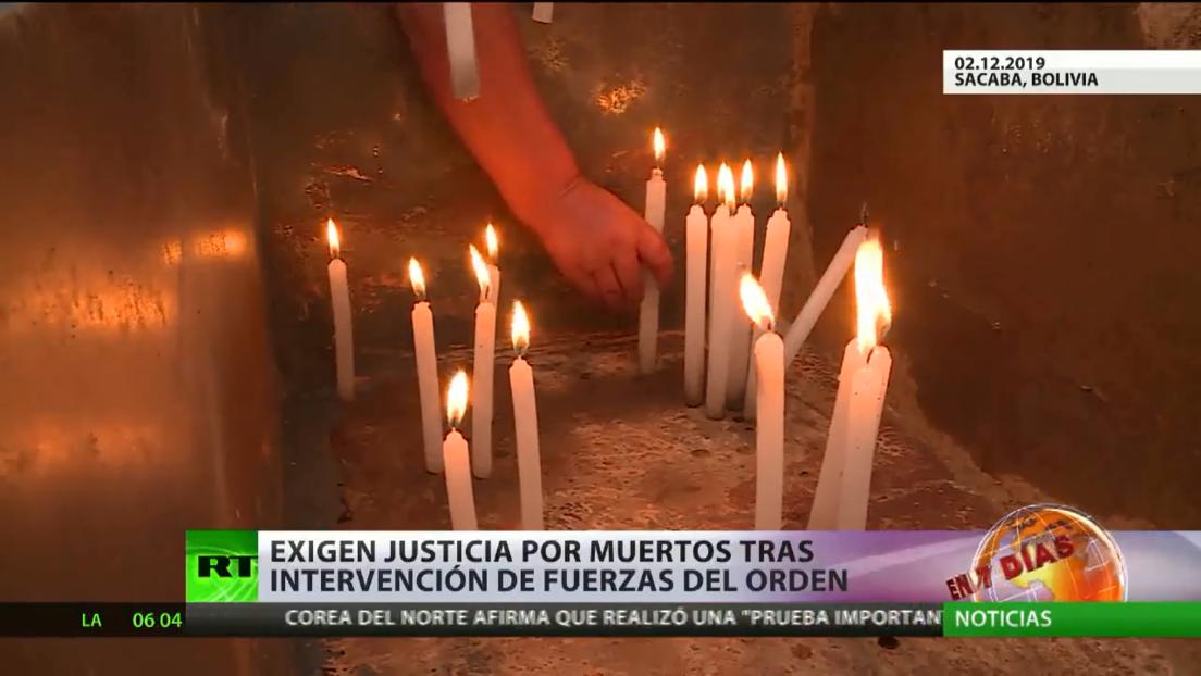 Familiares de fallecidos por intervención de las fuerzas del orden en Bolivia tras la salida forzada de Evo Morales exigen justicia