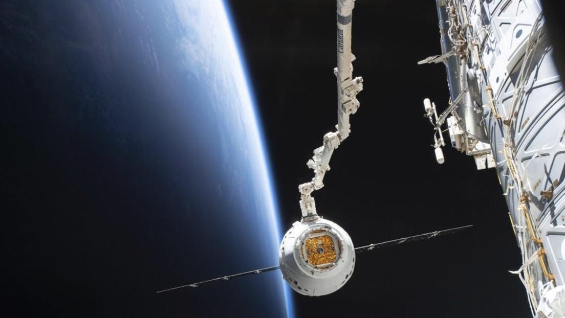 La Estación Espacial Internacional recibe ratones modificados genéticamente, miles de gusanos y un robot
