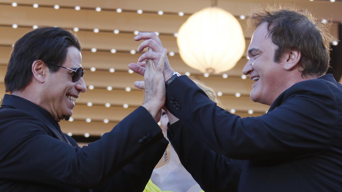 John Travolta revela un error histórico en la última película de Quentin Tarantino