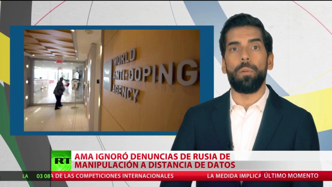 La AMA ignoró las denuncias de Moscú por manipulación a distancia de datos de dopaje