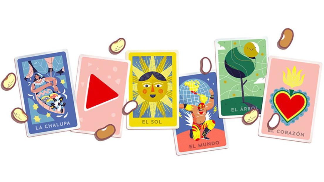 Google rinde homenaje al juego de la lotería mexicana con un 'doodle' interactivo multijugador