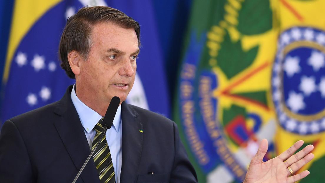 """Bolsonaro dice que el comercio con Argentina """"continuará de la misma forma"""" con la llegada de Fernández"""