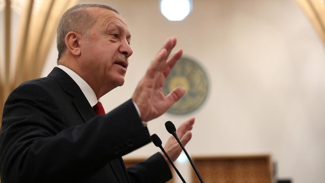 Erdogan reitera que Turquía no renunciará a los sistemas antimisiles rusos S-400
