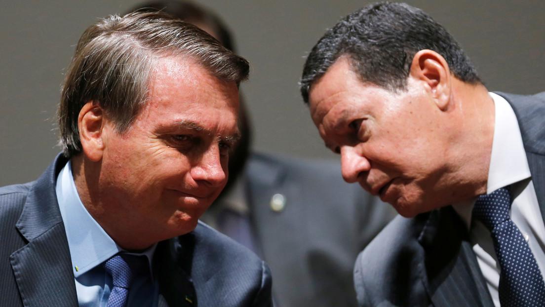 Bolsonaro enviará a su vicepresidente a la toma de posesión de Alberto Fernández en Argentina