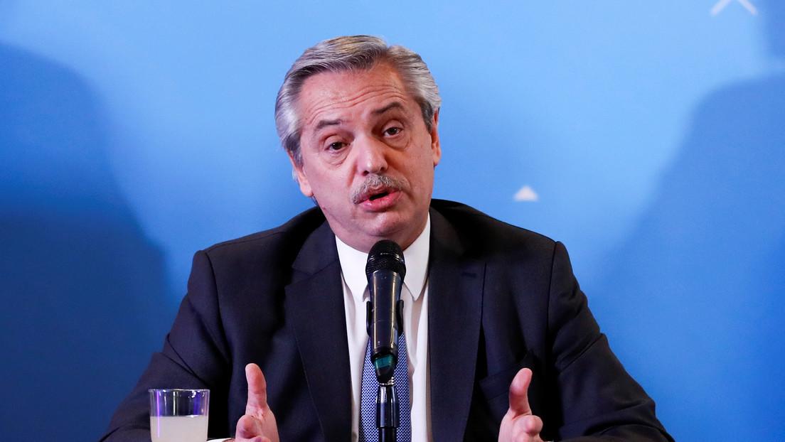"""Alberto Fernández reconoce que el riesgo de default es """"muy alto"""" para Argentina"""
