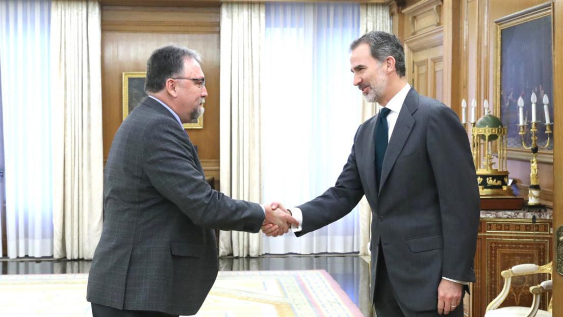 El rey de España comienza las consultas con los líderes políticos en busca de candidato para formar Gobierno