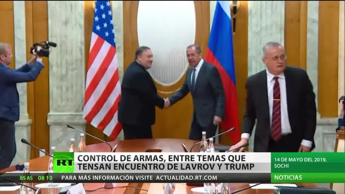 Relaciones bilaterales y control de armas: Lavrov se reúne con Trump para tratar una tensa agenda