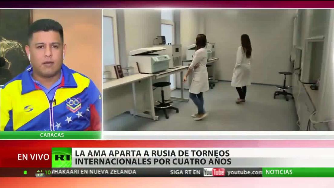 El ministro de Juventud y Deporte de Venezuela destaca el enfoque responsable de Rusia ante el dopaje