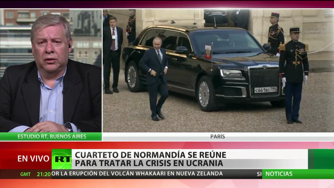 El Cuarteto de Normandía se reúne para tratar la crisis en Ucrania