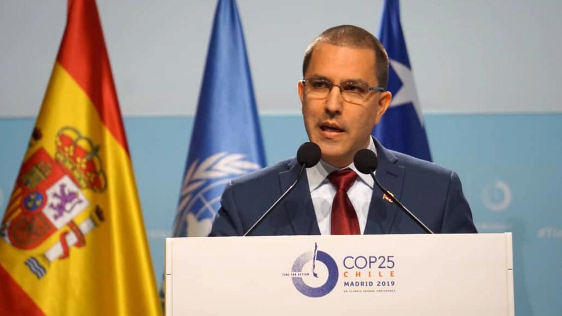 Los países del Grupo de Lima boicotean el discurso de Arreaza en la Cumbre del Clima de Madrid