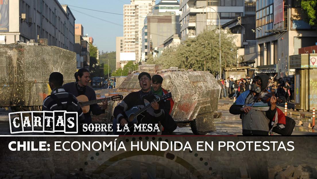 Chile: Economía hundida en protestas
