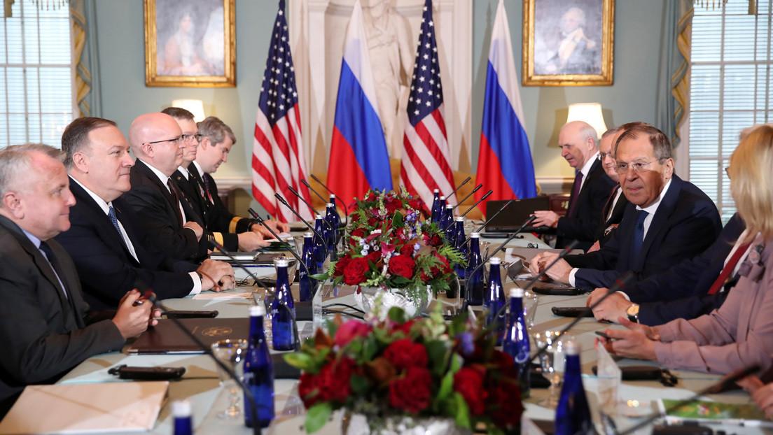 Del control de armas a la seguridad electoral: ¿De qué hablaron Lavrov y Pompeo en Washington?
