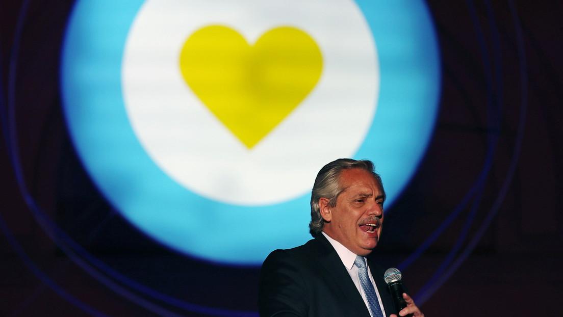 """Alberto Fernández: """"Estamos decididos a poner a Argentina de pie"""""""
